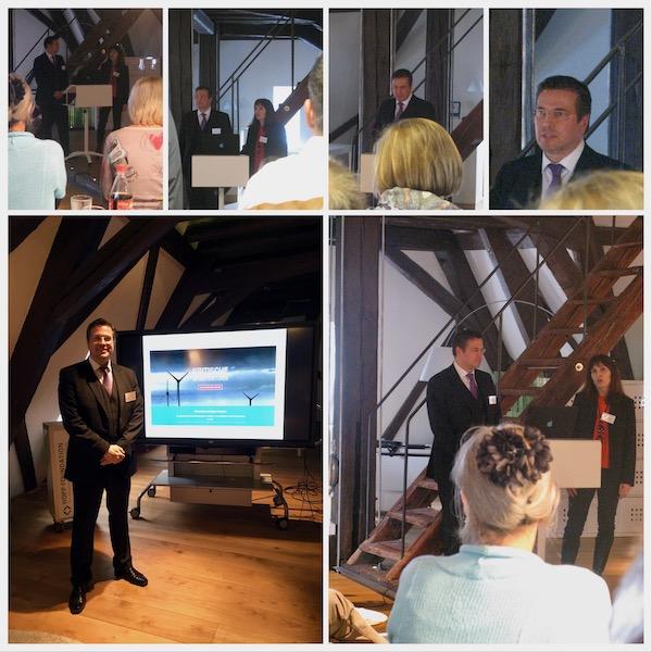98. Mittagstreff Wirtschaftsförderung in der Hopp Foundation in Weinheim