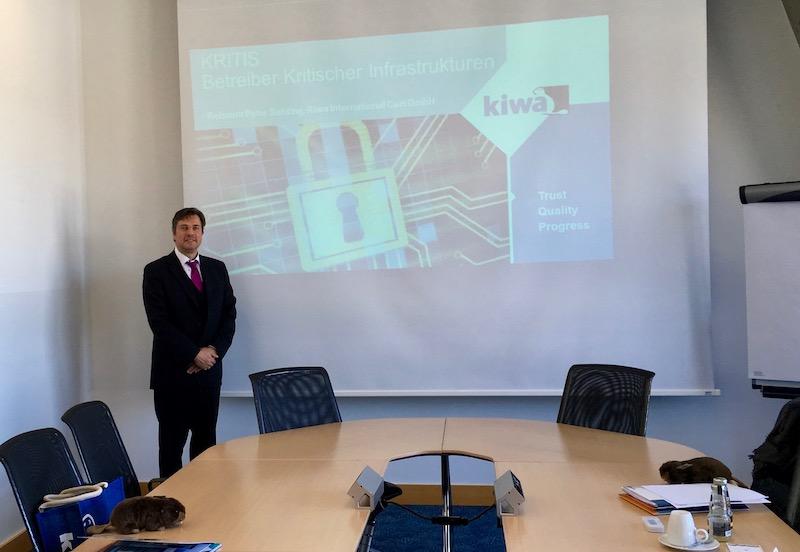KRITIS – Vortrag für Energieversorger kritischer Infrastrukturen in Stuttgart für KIWA von Peter Suhling