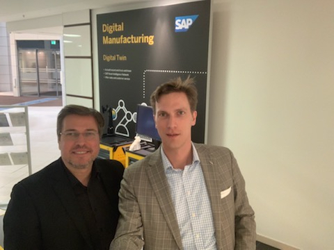 Business Lunch bei SAP in Walldorf