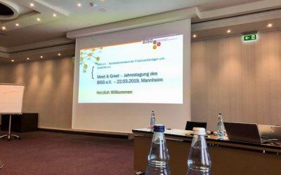"""BISG Jahrestagung 2019: """"Meet & Greet"""" am 22.03.2019 in Mannheim"""