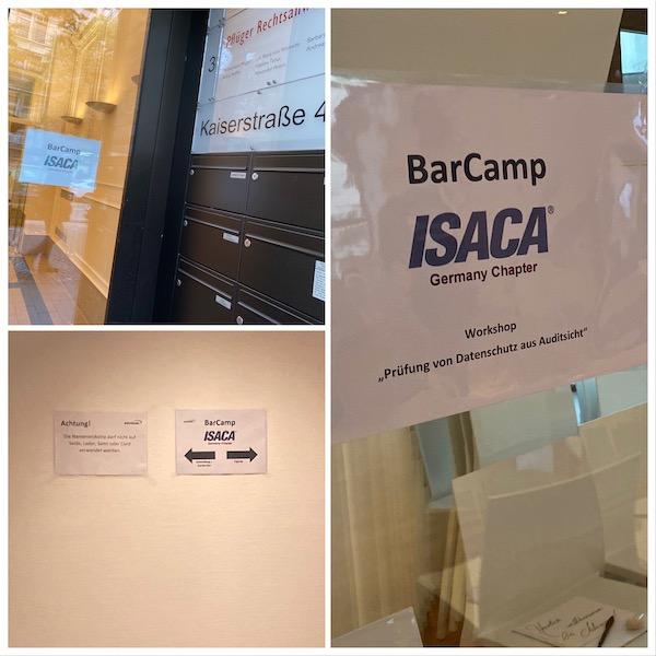 BarCamp der Fachgruppe IT-Revision von ISACA Germany in Frankfurt